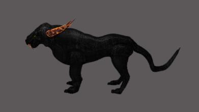 3d fantasy puma puma tiger fantasy animals characters 3d asset games rpg