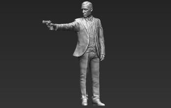 al pacino michael corleone godfather 3d printing ready stl obj michael corleone godfather al pacino vito sonny marlon brando italy york mafia gun gangster mob criminal hollywood