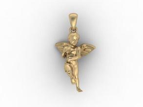ángel colgante ángel bebé querubín de navidad culpture cupido el diamante el esmalte joya la joyería de la matriz el collar colgantes sculptings tienda de regalos la estatua día de san valentín