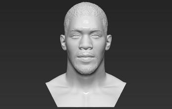 anthony joshua bust 3d printing ready stl obj formats anthony joshua boxer boxing celebrity famous athlete heavyweight mike tyson mayweather klitschko mcgregor