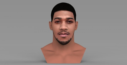 anthony joshua bust ready full color 3d printing anthony joshua boxer boxing celebrity famous athlete heavyweight mike tyson mayweather klitschko mcgregor