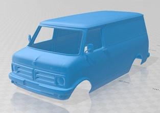 bedford cfr minibus 1972 stampabile corpo furgone bedford cfr minibus 1972 stampabile corpo furgone fessura scalextric tamiya rc miniz passatempo micro