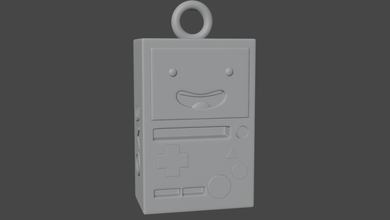 bmo adventure time keychain keychain bmo adventure-time adventuretime printer
