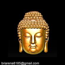 buddha face pendant ready 3d print 3d print model gold jewel jewellery jewels buddha face ancient printable silver jewelry figure gautam budha buddhism religious statue sculpture jewish jesus pendants