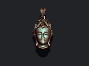 Buda cabeça pingente Buda estátua budda hong siddhartha gautama budismo zen religião ídolo Deus asiática mosteiro buda fácil Budha Sidharta meditação hinduísmo joalheria