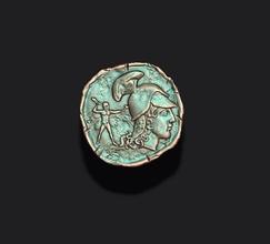 moeda v3 moeda Tesouro Antiguidade Roma romano dinheiro numismática imperador antigo grego histórico moeda finança medalhão medalha retro cópia vintage raro tetradracma