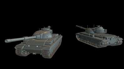 conqueror tanks tanks war thunder wow wows 3d models modeling printing print toy panzer panzerkampfwagen