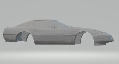 corvette c4 hotwheels diecast scx slot car slotcar race stl printable gti vauxhall gm holden corvette supercars v8