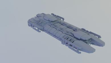 Begierde Hulk Vorabend eveonline Schiff Erz Raumschiff Spiel 3dprint mmo Transport Fahrzeug Miniaturen