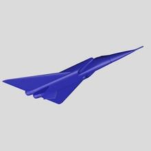 dassault mach 3 fighter md75 1 aircraft model 3d-printable project dassault mach-3 fighter vehicle jet supersonic