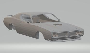 dodge charger sb 426 hemi de 1971 fundido a presión slotcars hotwheels ranura coche de la raza dodge chrysler mopar