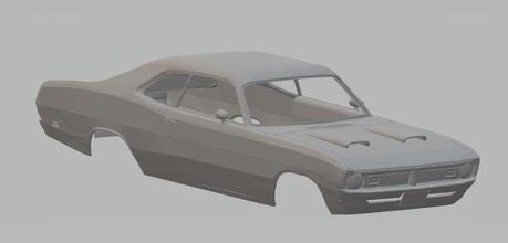 dodge demon 1971 imprimible cuerpo del coche dodge demonio 1971 imprimible cuerpo coche 1-32 1-24 ranura scalextric tamiya rc