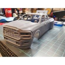esquivar RAM 3500 2020 cuerpo impresión etiqueta coche coches pasatiempo americano auto automotor esquivar RAM 3500 2020 camión coche vehiculo deporte modelo imprimir coche impresión manejar rc juguete plastico