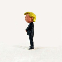 donald trump uomo famosa figura figurina politica uomo politico donald trump presidente usa americano statiuniti celebrità tv donaldtrump carattere repubblicano