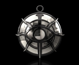 dragon age inquisition insignia 3d printable stl jewelry pendant pendants gold silver sterling platinum dragon aye inquisition insignia fashion men women jewellry game