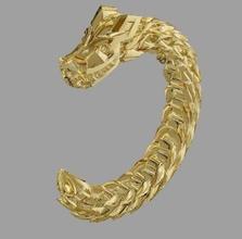 dragon free drakon dracon zbrush gold jewellery bracelet 2015 sculpt dragon