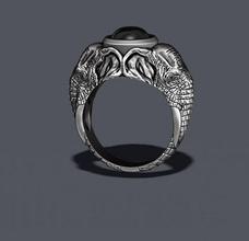 elephant ring gem stone africa apparel cad elephant gold high jewel jewellery jewelry nature silver mammal animal african wild elefant elefnt briliant diamond diamant