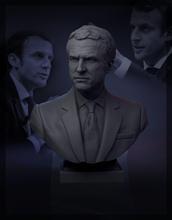 Emmanuel macron 3d impression modèle Emmanuel macron Président France politique politicien sarkozy Merkel covid ministre L'Europe syndicat célébrité célèbre buste politique imprimable politique