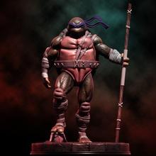 fan art tmnt donatello statua tmnt ninja adolescente mutante umano donatello donnie Leo ralph miky cartone animato comico eroe supereroe scifi Giappone animale tartaruga tartaruga arte