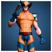 fan art ghiottone statua logan ghiottone xmen uomo statua comico meraviglia i fumetti supereroe mutante mutanti xweapon artigli super eroe arte sculture navicella spaziale