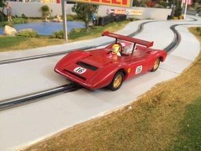 ferrari 612 coche vehiculo coches pasatiempo auto automotor ferrari 612 deporte modelo imprimir coche impresión manejar deriva rc juguete plastico 110 112 114 118