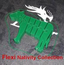 flexi vaca - natividad de la colección de - belen flexi la natividad de la vaca de navidad