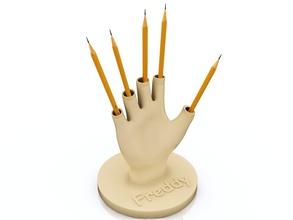 freddy kruger retro sharp símbolo de corte palas arma de la herramienta art escultura