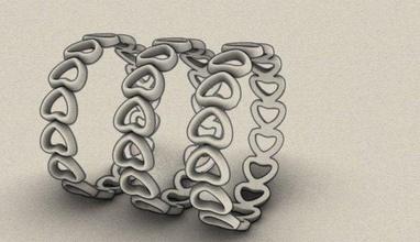 golden heart jewelrydesign jewelery design jewellery fashion fashion-ring golddesigner gold-ring goldenring gold stl obj goldenrings earrings 3dprint 3dmodel rhinoceros rhino3d industrial
