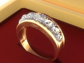 golden ring diamonds jewellery ring golden daimond uzuk