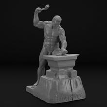 grego Deus hephaestus grego romano Grécia Roma mitologia mythos Deus deusa antigo escultura estátua monumento olímpico história nu nu imprimível