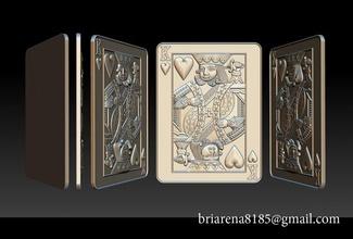 heart king playing card pendant sculpture silver gold jewelry jewellery wild beast necklace pendants jack heart king card poker casino roulette game diamond enamel