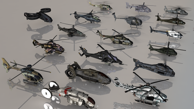 helicopters 32 heli collections poly ready games copter helicopter heli war aircraft dron armor gun rocket rocketry sniper explosion destroy