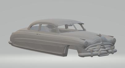 Hudson avispón ruedas calientes fundido presión scx espacio coche vehiculo tragamonedas stl imprimible rcmodel clásico clasicos coches carrera nascar disney