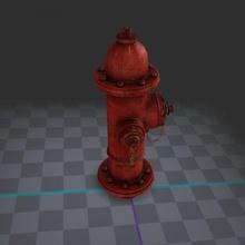 hydrant 3d-game asset free low-poly fire-hydrant environment props 3d-game-asset texturedmodel nextgun-games-props highpoly streetwallkside