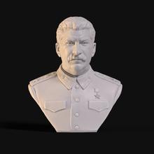 joseph stalin sculpture 3d printing model art design statue statuette leader party military generalissimo revolutionary russian marshal soviet union stalin joseph