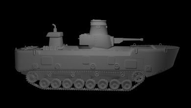 ka chi tanque ka chi tanque 3dprint pasatiempo modelo Japón stl obj
