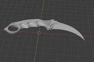 Karambit cuchillo mostrador Huelga Karambit cuchillo cs csgo mostrador Huelga normal