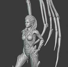 kerrigan war 3d models modeling printing print toy wow wows figurine statuette gift sacrifice donate kerrigan
