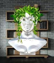 dama hiedras maceta mujer desnuda decoracion oficina hogar compartimento secreto bonito diseo esculturale escultura librero sexygirl sexy minimalista
