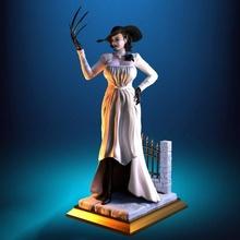 lady dimitrescu - figure printable lady lady-dimitrescu nsfw printable action-figure actionfigure female vampire creepy horror games