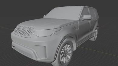 landroverdiscovery5 Landrover descubrimiento 3dprint auto stl obj modelo