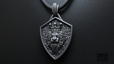 lion king beasts pendant lion king pendant beast animal cat crown power organics decoration blackening sculpt stereolithography luxury design jewellery wax printable style print