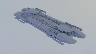 Mackinaw Retriever Vorabend eveonline Schiff Erz Raumschiff Spiel 3dprint mmo Transport Fahrzeug Miniaturen