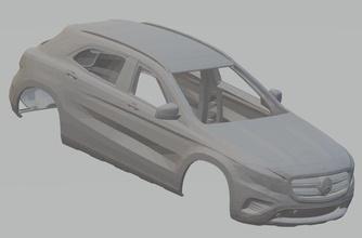 mercedes benz gla 2016 printable body car mercedes benz gla 2016 printable body car shell rc radio control miniz tamiya slot scalextric