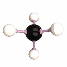 methane molecule methane molecule chemistry atom model chemical structure science gas molecular physics illustration carbon element sphere hydrogen education