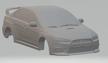 Mitsubishi lanceiro evo diecast hotwheels scx rcmodel rádio controle tamya escalextrico imprimível carro fenda slotcar quente rs gt