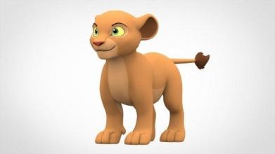nala cub lion-cub lion cub nala baby kid cat feline predator lion-king king mammal animal character creature cute funny cartoon toon
