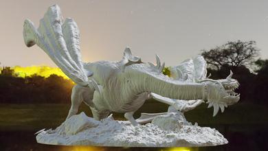 nazgul draco nazgul bestia selvaggia sauron saruman gandalf aragorn signore anelli gollum frodo Hobbit smaug Drago tirith elfo nano bestia