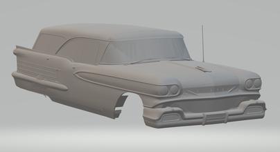 oldsmobile 88 wagon hotwheels diecast scx slot car slotcar stl printable rcmodel gm chevrolet pontiac buick wagon