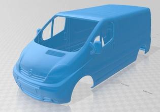 opel movano printable body van opel monavo printable body van slot scalextric tamiya rc radio control shell hobby